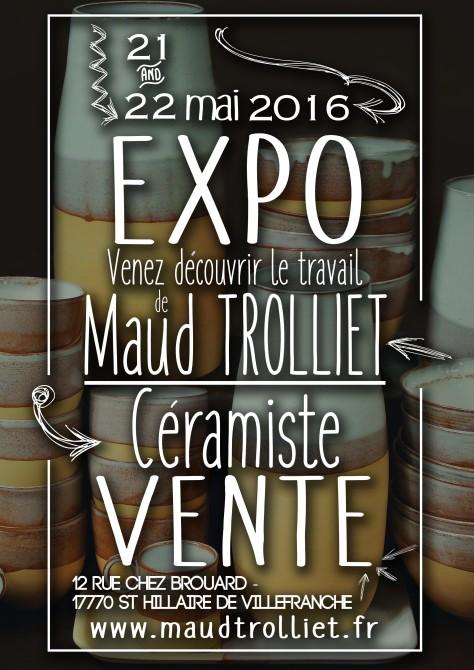 affiche Maud Trolliet