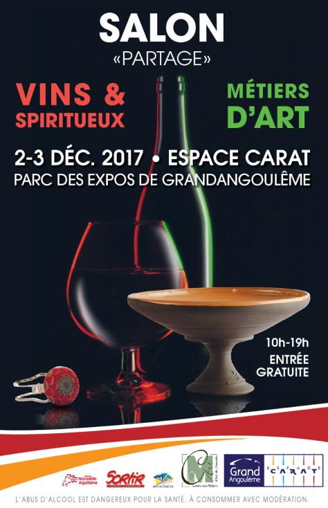 Affiche salon Partage Angoulême
